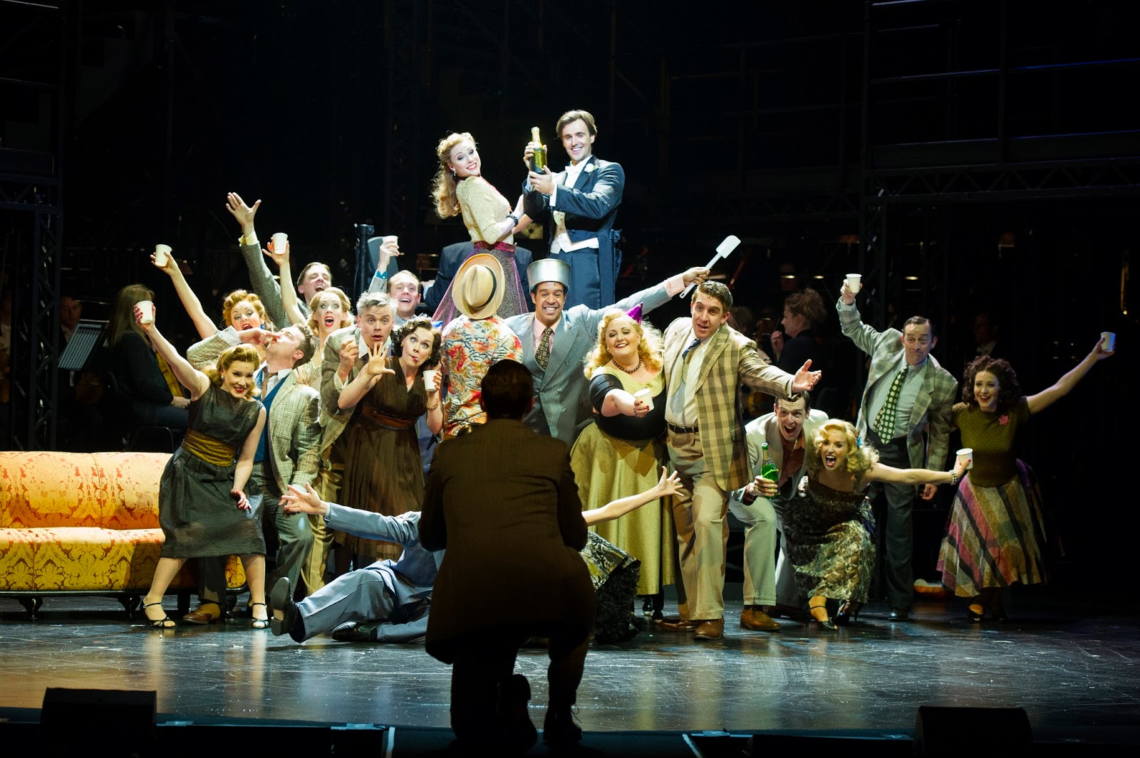 8. The Sunset Boulevard Company, photo Richard Hubert Smith