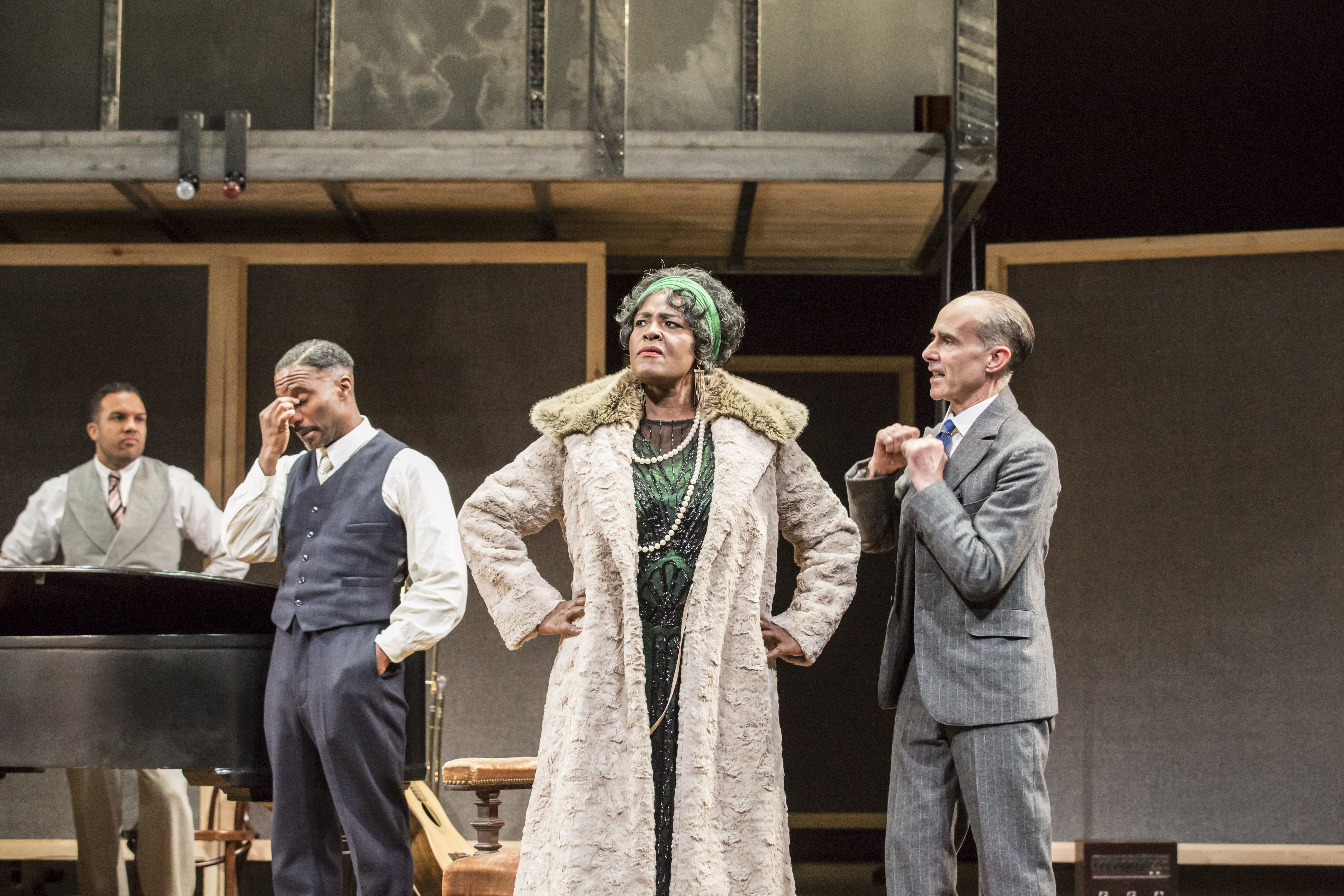 MA RAINEY'S BLACK BOTTOM by Wilson, , Writer - August Wilson, Director - Dominic Cooke, Designer - Ultz, Lighting - Charles Balfour, The National Theatre, 2015, Credit: Johan Persson/
